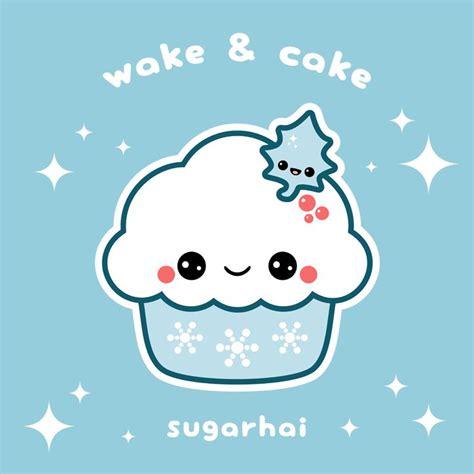 kawaii snowflake cupcake kawaii wallpaper kawaii kawaii cute