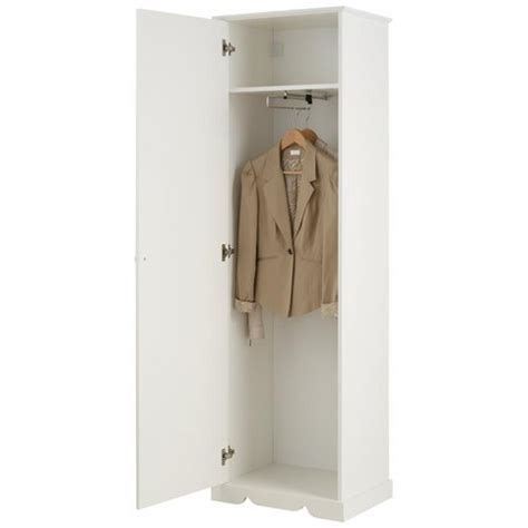 armoire penderie 1 porte home affaire 3suisses