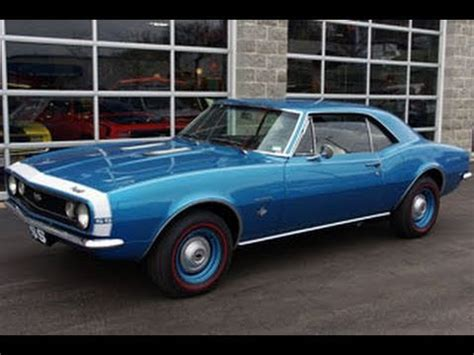1967 chevrolet camaro ss 350 four speed muscle car youtube