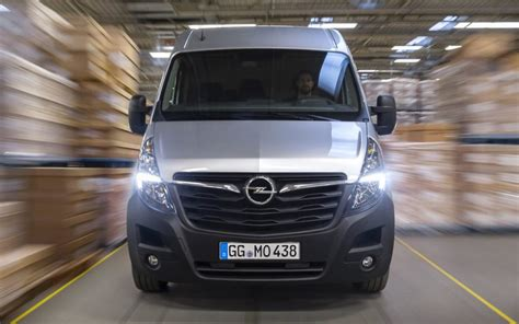 Opel Movano 2019 opel movano 2019 facelifting technologiczny project