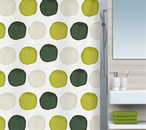 Detox From Spriella by Spirella Nubo Textile Shower Curtain Cleveshower