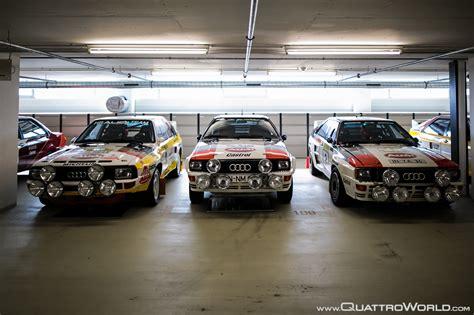 Audi Quattro A2 by Audi Tradition Quattroworld Visits Audi S Hidden Museum