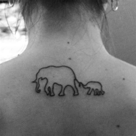 mother daughter elephant tattoos my with elephants 63 in the