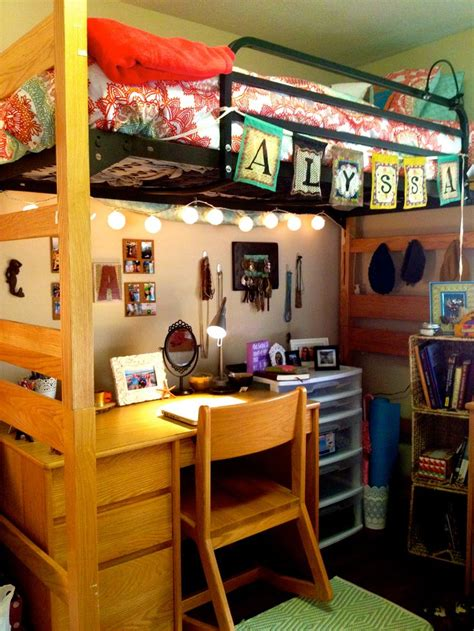lofted bed dorm pinterest the world s catalog of ideas