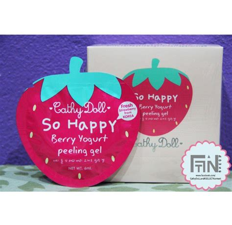 Cathy Doll So Happy Berry Yoghurt Water Drop Essence 1 rilakkuma