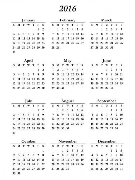 Calendar 2016 Usa List Of Holidays And Calendar 2016 India Usa Daily Roabox