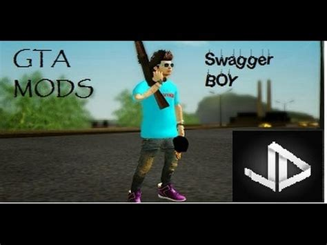 """swagger boy skin mod"" gta san andreas youtube"