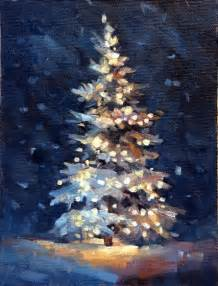 17 best ideas about winter painting on pinterest tree