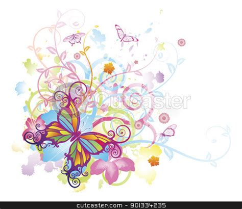 butterfly watermark clipart 52