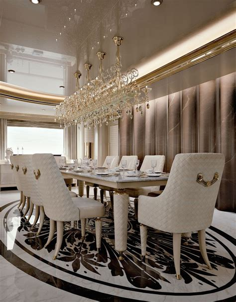 luxurious dining room sets gorgeous luxury dining table