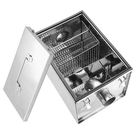 Single Sink Table Grease Trap Stainless Steel charleswembley cambodia supplier for restaurants cafe in cambodia