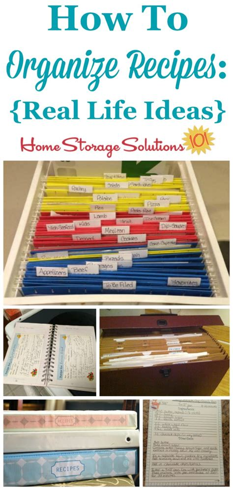 home storage solutions 101 organized home how to organize recipes real ideas