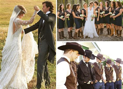 Wedding Ideas: The Western Wedding