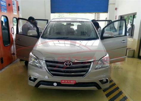 Toyota Innova Crysta Facelift 2020 by Toyota Innova Facelift Prices Leaked
