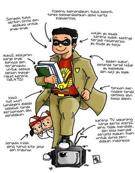 karikatur hari guru tetap jadi guru atau berhenti shaleh17 indonesiana