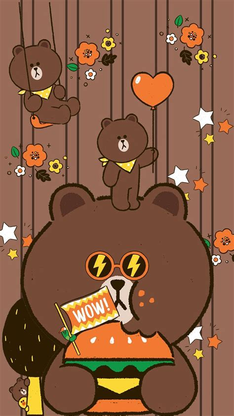 Line Friends Brown best 500 line friends images on line friends