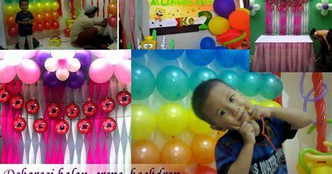 Hiasan Kue Badut Balon Warna berapa jumlah balon untuk dekorasi sederhana sanggar badut sulap