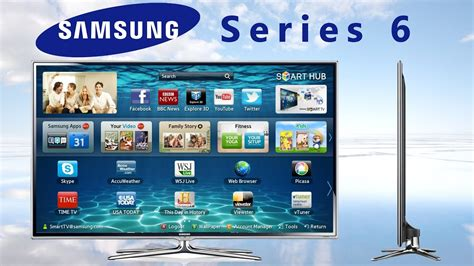 samsung hd 3d smart tv quot series 6 quot 6710 unboxing and back panel review русский язык