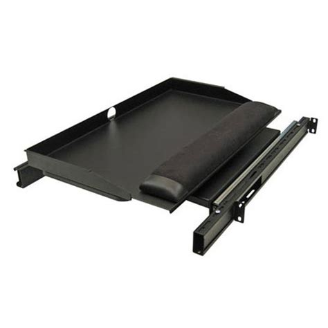desk mounted slide out keyboard tray rack mount keyboard drawers fixed slide out