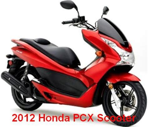2012 honda pcx scooter newest scooter