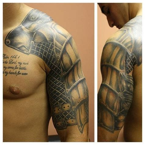 pauldron tattoo 27 best images about celtic knot and armour tattoos on
