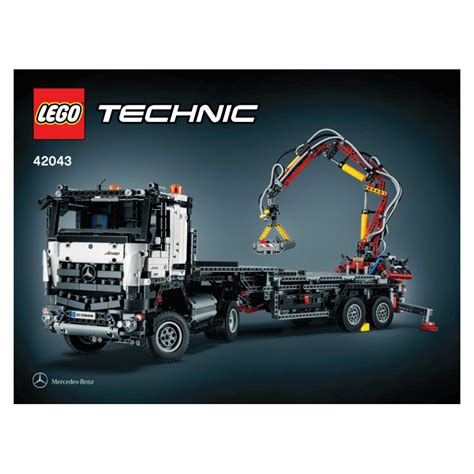 Lego 42043 Arocs 3245 lego technic mercedes arocs 3245 42043 retired