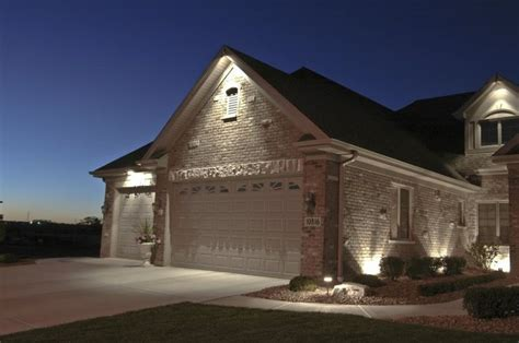 house down lighting outdoor accents lighting garage