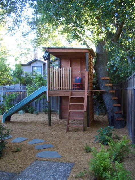the blue brick interior design backyard fort