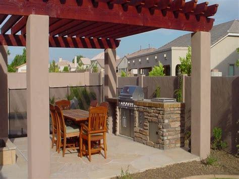 Patio Ideas Arizona Hardscape Designs For Backyards Arizona Backyard Patio