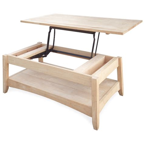 coffee table with lift up top international concepts bombay solid wood lift top coffee