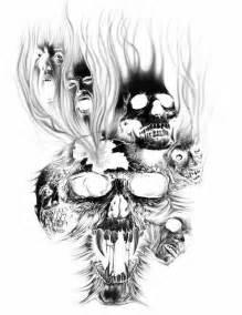 best 25 evil skull tattoo ideas on pinterest girly