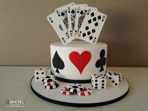 Gift Card Cake - casino cards cake the quirky cake society