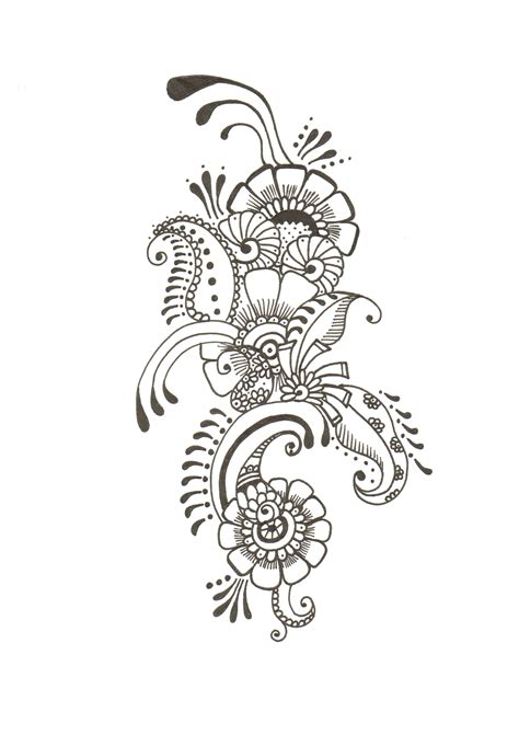 henna tattoo design drawing mehndi designs drawings makedes