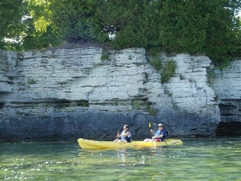 Door County Kayak Tours by View Of The Caves Paddle Picture Of Door County Kayak