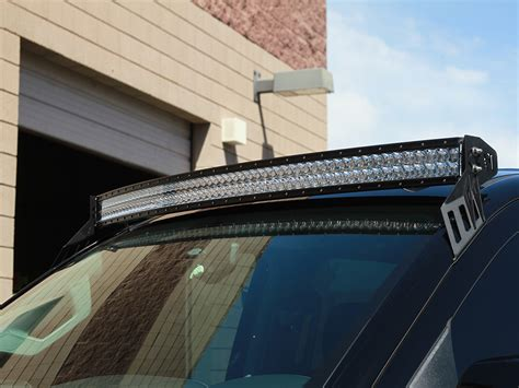Roof Mounts For Rds Series Curved Led Light Bars By Rigid Silverado Led Light Bar Mounts