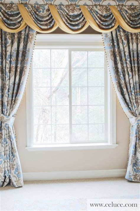 drapes and swags luxury swags and tails valance curtain drapes