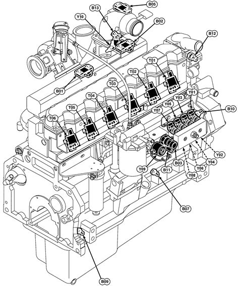 engine components diagram engine block drawings