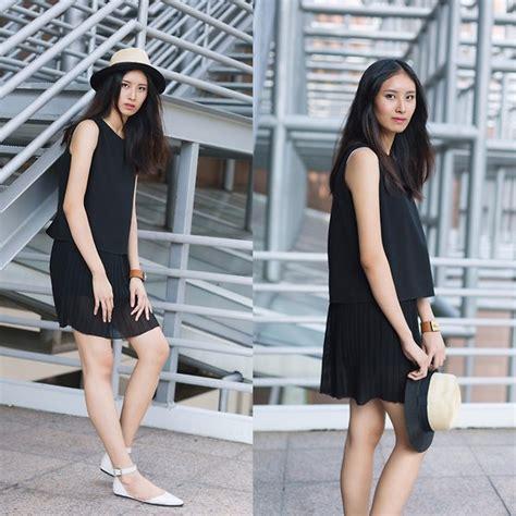Mango Flowery Tank Top Prelove Singapore haylee t gray addiction lookbook
