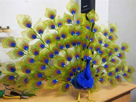 crafts and ideas easy craft idea peacock of