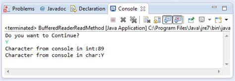 tutorial java bufferedreader java bufferedreader read method exle