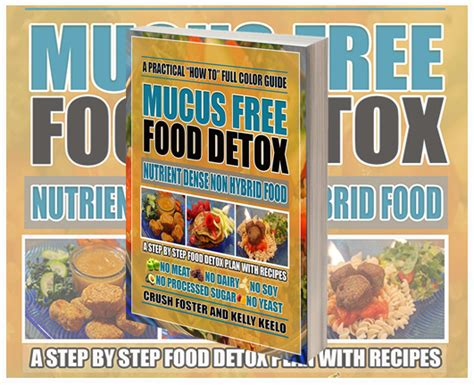Fruitarian Mucus Detox by A Healthy Crush Juice Hugger For The Of Health