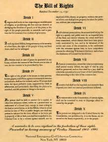 the bill of rights and the neclc