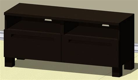 besta adal ikea best 197 197 dal tv stand autodesk revit 3d cad model