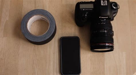 len diy this diy iphone to slr lens adapter costs 0 and takes 30