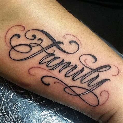 Tattoo Family Cursive | tattoo letras ink cursive on instagram