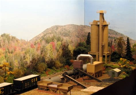 asphalt plant  sweethome alabama model railroad