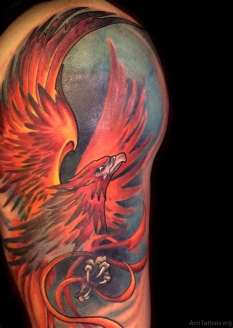 50 brilliant phoenix tattoos for arm