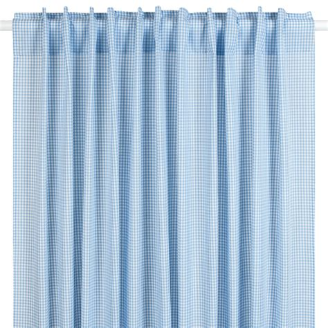 vorhang blau ideas to hang curtains lakaro gardine vorhang vichykaro