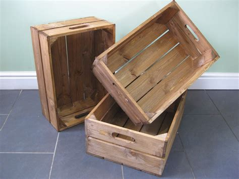 wood crate everything is handmade to order great crates