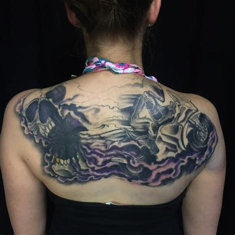 tattoo tribal upper back 60 best upper back tattoos designs meanings all